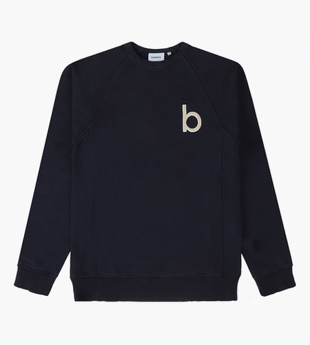 Baskèts Baskèts Heavy Cotton Crewneck Sweat Teddy Ash Blue