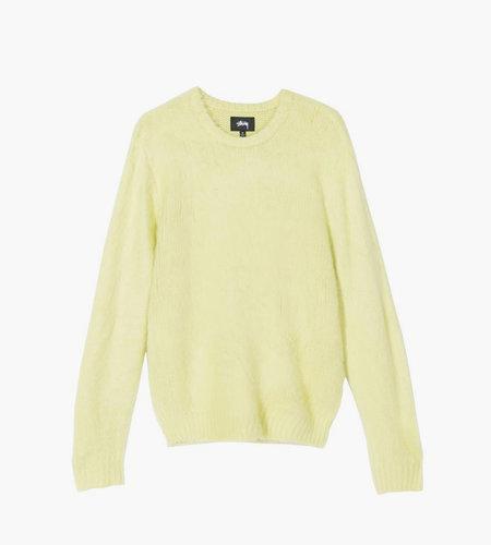 Stussy Stussy Brushed Sweater Lime