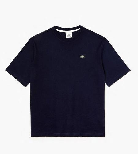 Lacoste Live Lacoste 1HT1 Men's T-shirt 07 Navy Blue