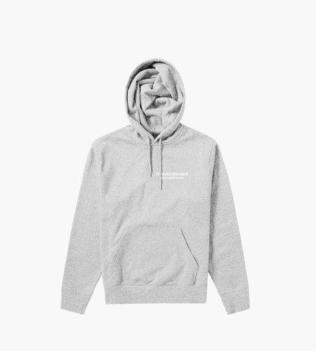 New Amsterdam New Amsterdam Logo hoodie Ash heather