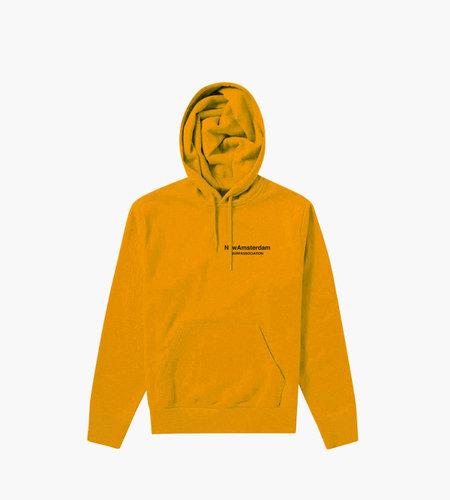 New Amsterdam New Amsterdam Logo hoodie Orange