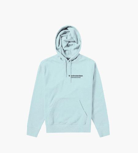 New Amsterdam New Amsterdam Logo hoodie Light Blue