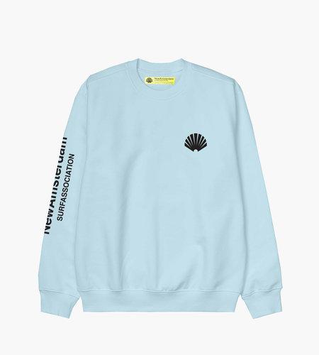 New Amsterdam New Amsterdam Logo sweater Light Blue
