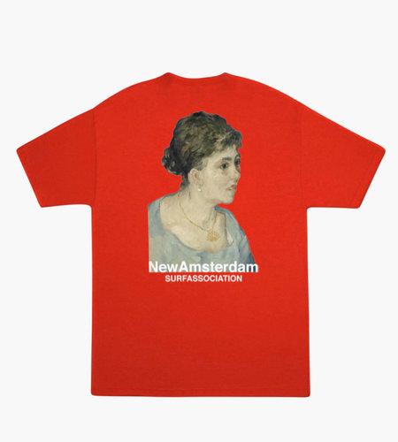 New Amsterdam New Amsterdam Van Gogh tee Red