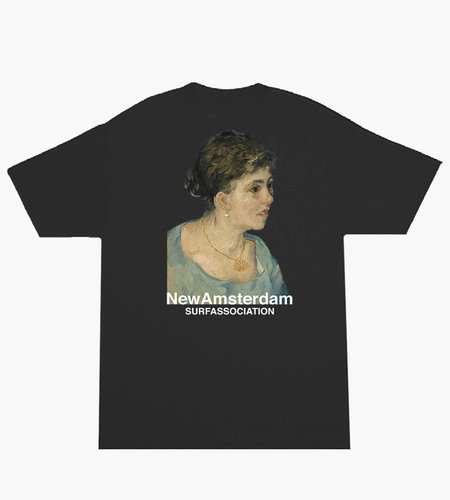 New Amsterdam New Amsterdam Van Golf tee Black