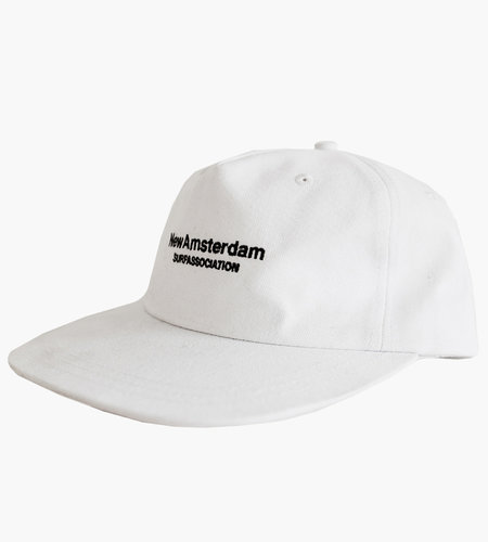 New Amsterdam Surf Association New Amsterdam Logo Cap White