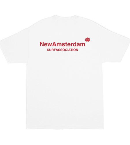 New Amsterdam New Amsterdam Logo tee White