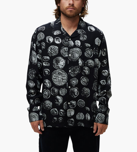 Obey Obey The Loot Woven LS Coins Black