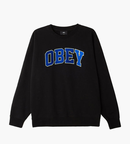 Obey Obey Sports Crew Black