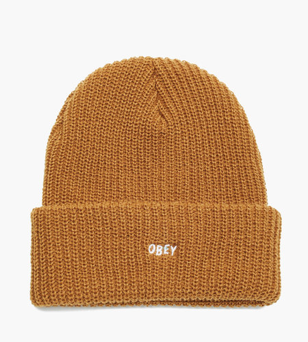 Obey Obey Jumbled Beanie Tapenade