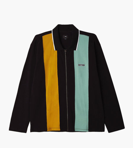 Obey Obey Traffic Zip Polo LS
