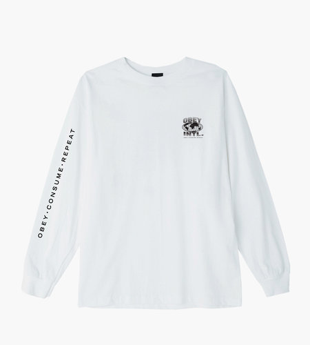 Obey Obey Consume Repeat Intl. White