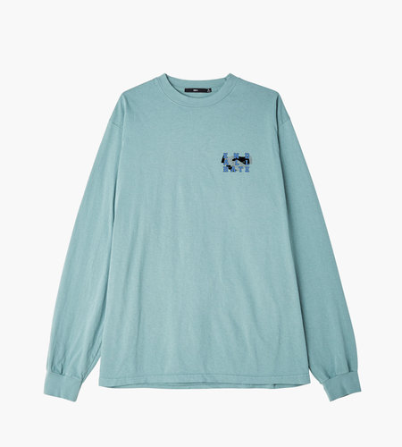 Obey Obey End All Hate Tee LS Atlantic green