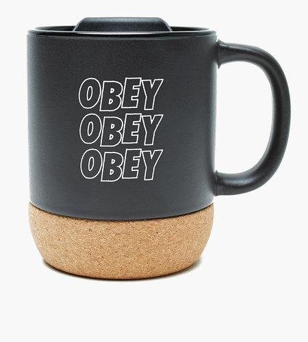 Obey Obey Jumble Stacks Cork Mug