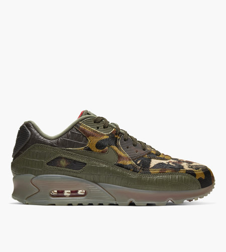Nike Nike Air Max 90 Cargo Khaki University Red