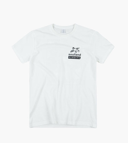 Soulland Soulland Meets Numbers Collage Pocket T-Shirt White