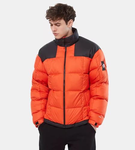 The North Face The North Face M Lhotse Jacket Black Tangerine Tango