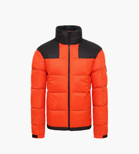 The North Face The North Face M Lhotse Jacket Black Tangerine Tango
