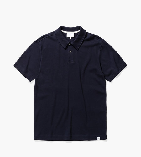 Norse Projects Norse Projects Ruben Textured Polo Dark Navy