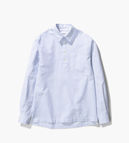 Norse Projects Norse Projects Oscar Oxford Blue Stripe