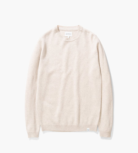 Norse Projects Norse Projects Sigfred Lambswool Oatmeal Melange