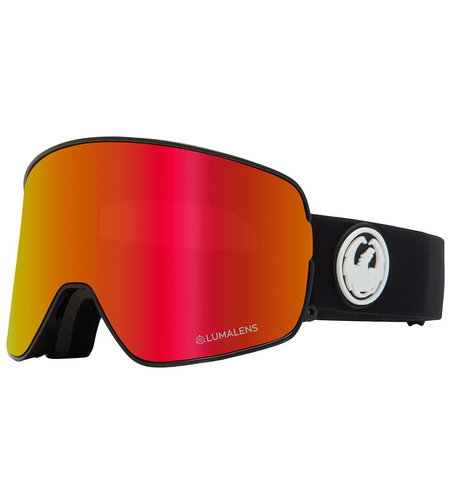 Dragon Alliance X1S 3 Snow Goggles Red Ionized Yellow Blue