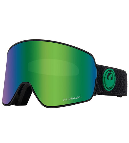 Dragon Alliance NFX2 Two Snow Goggles Green Ionized Yellow Blue