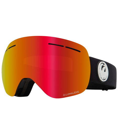 Dragon Alliance NFX2 Two Snow Goggles Red Ionized Yellow Blue