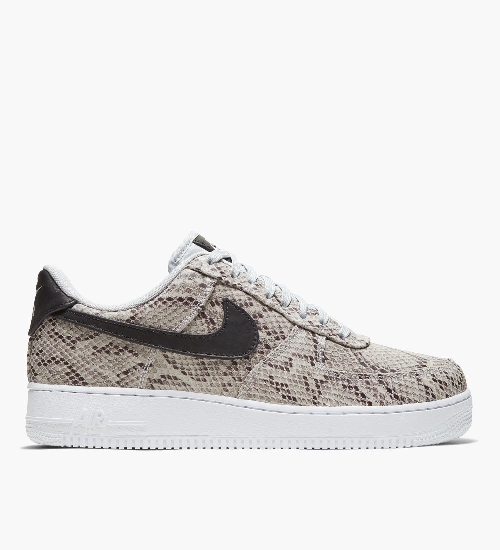 Nike Air Force 1 '07 'Snake' White Black