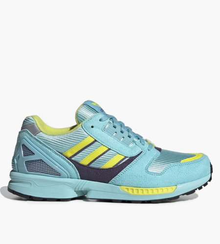 Adidas Adidas ZX 8000 Clear Aqua Light Aqua Shock Yellow