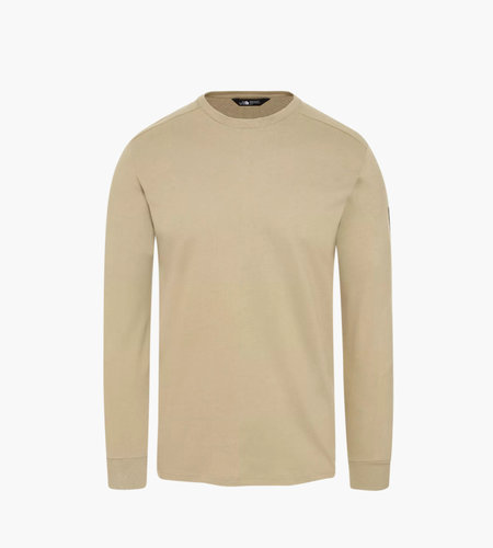 The North Face The North Face M L/S Fine 2 Tee Twill Beige