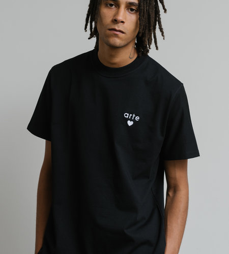 Arte Antwerp Arte Thomas Heart T-Shirt Black