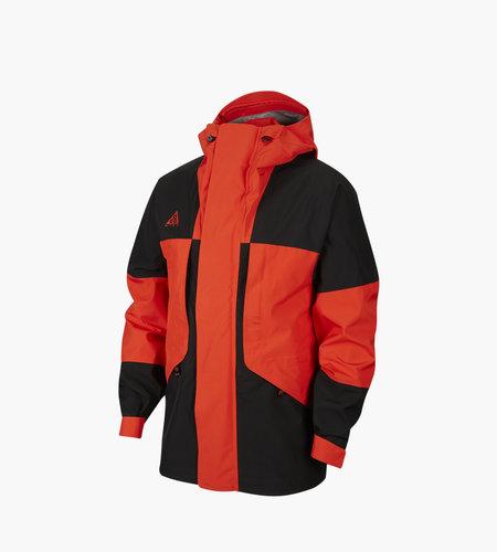 Nike Nike M NRG ACG Jacket Hooded Goretex Black Habanero Red