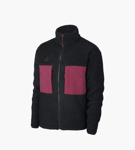 Nike Nike M ACG Microfleece Jacket Black Villain Red