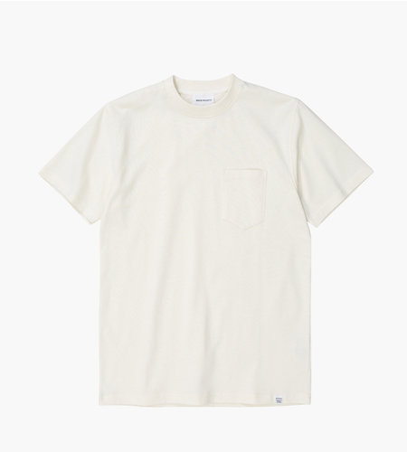 Norse Projects Norse Projects Johannes Pocket SS Ecru