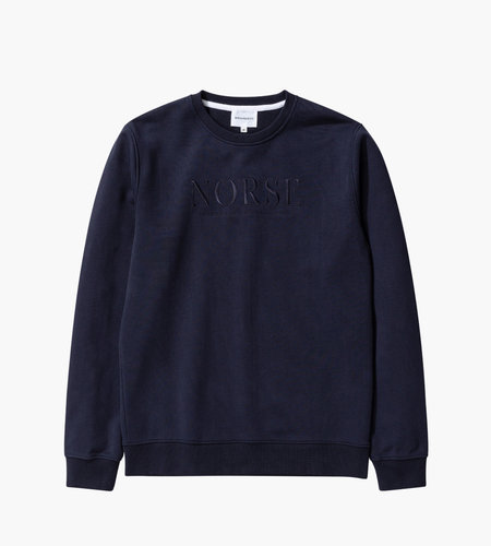 Norse Projects Norse Projects Vagn Serif Logo Dark Navy