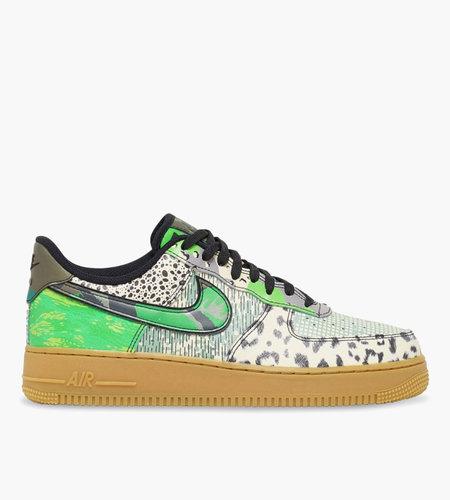 Nike Nike Air Force 1 '07 QS Black Black Green Spark Gum Brown