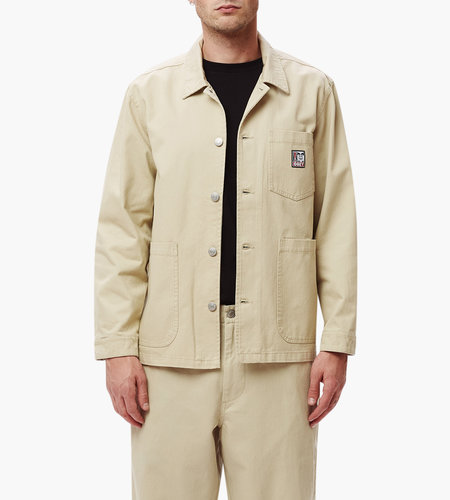 Obey Obey Pebble Chore Jacket Natural