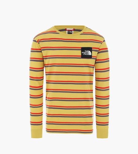 The North Face The North Face M Boruda L/S Tee Bamboo Yellow