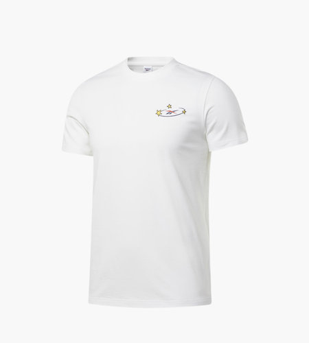Reebok Reebok x Tom & Jerry Short Sleeves T Logo White Small Chest Logo