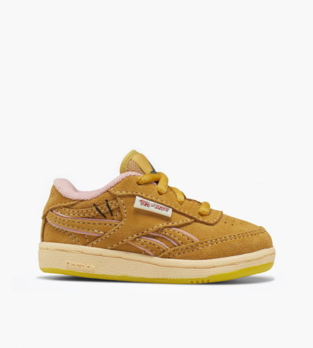 Reebok Reebok x Tom & Jerry Club C Revenge MU Bold Brass Bold Brass Quiet Pink KIDS