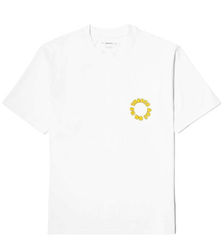 "Reception Reception SS Tee ""Mosquito"" White"