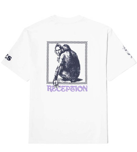 "Reception Reception SS Tee ""Joconde"" White"
