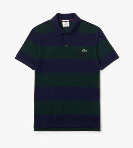 Lacoste Live Lacoste 1HP3 Men's S/S Polo 08 Sinople Navy Blue