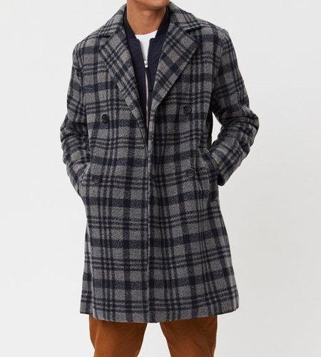 Legends Frankie Check Coat Grey Check