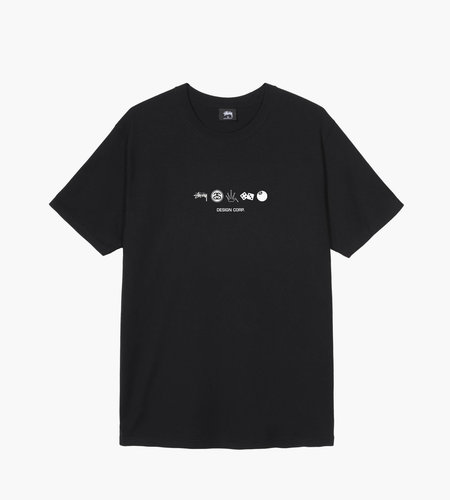Stussy Stussy Global Design Corp. Tee Black