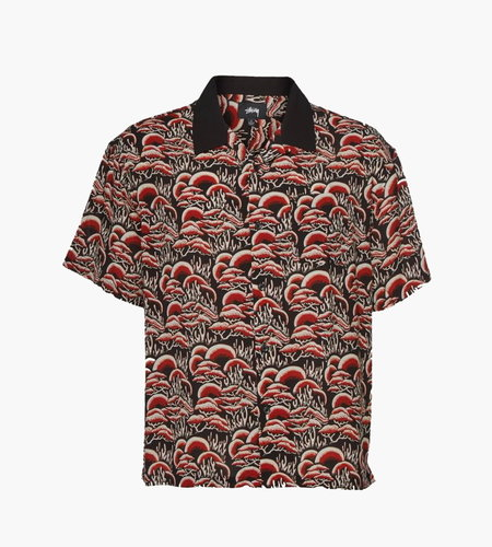 Stussy Stussy Coral Pattern Shirt Red