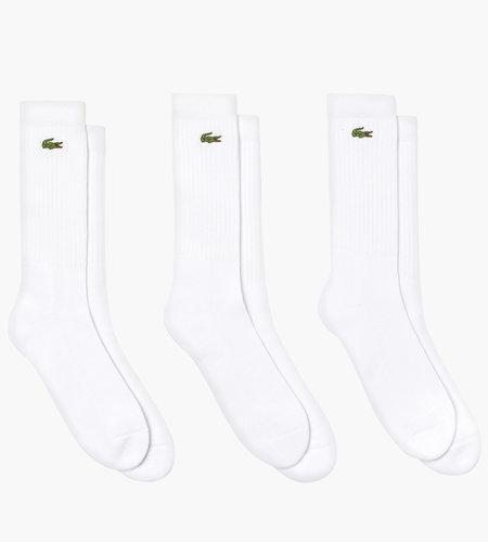 Lacoste Live Lacoste 2G1C Socks 01 White White