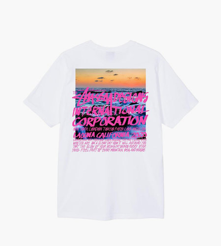 Stussy Stussy Clear Day Tee White