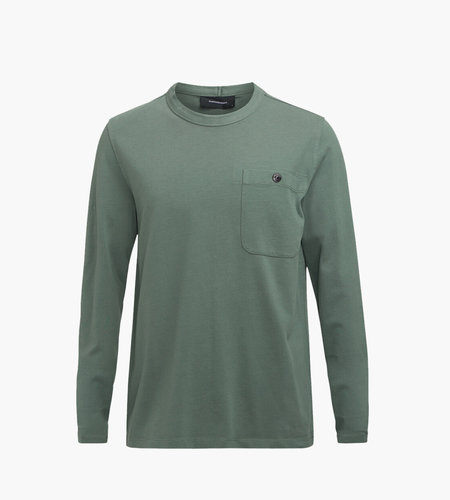 Peak Performance Peak Performance Urban Pocket Longsleeve Alpine Tundra